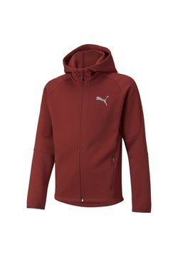 Puma - veste en sweat zippée - intense red