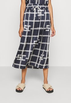 Scotch & Soda - MIDI SKIRT WITH ALLOVER PRINT - Bleistiftrock - combo