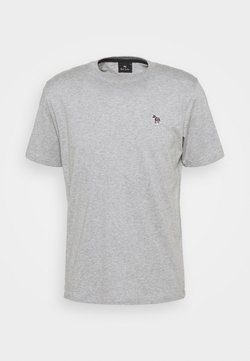 PS Paul Smith - MENS REG FIT ZEBRA - T-Shirt basic - grey