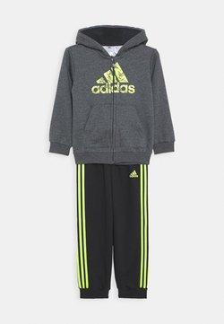 adidas Performance - FAVOURITES TRAINING SPORTS TRACKSUIT BABY SET - Dres - grey