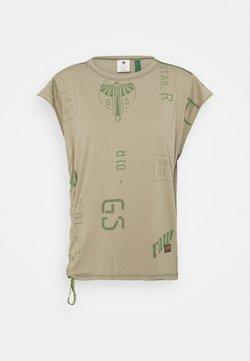 G-Star - GSRAW GYRE KNOT CAP - T-Shirt print - hatton contour