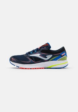 Joma - SPEED - Zapatillas de running neutras - navy/lemon