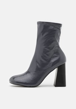 Topshop - BRODY STRETCH SOCK BOOT - Nilkkurit - grey