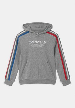 adidas Originals - HOODIE UNISEX - Collegepaita - medium grey heather