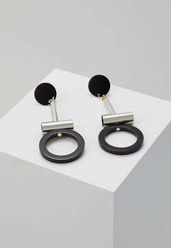 sweet deluxe - GUANNA - Earrings - silber/schwarz