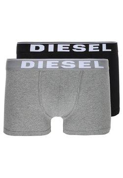 Diesel - UMBX-DAMIEN BOXER 2PACK - Shorty - schwarz/dunkelgrau