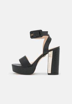 Laura Biagiotti - Korkeakorkoiset sandaalit - black