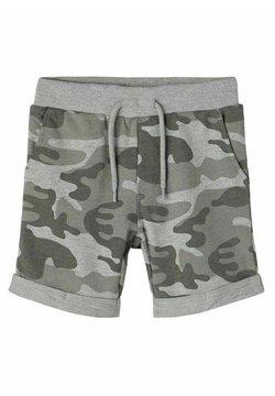 Name it - TARNPRINT  - Shorts - grey melange