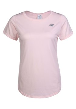 New Balance - ACCELERATE SHORTSLEEVE - Camiseta básica - light pink