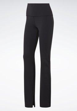 Reebok - REEBOK LUX BOOTCUT TIGHTS 2.0 - Pantalones - black