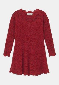 Rosemunde - LACE - Cocktailkleid/festliches Kleid - cranberry