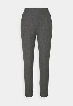 ONLY Petite - ONLNELLA PANTS - Jogginghose - dark grey melange