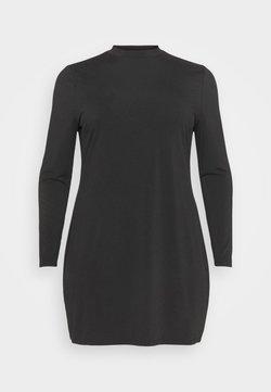 Even&Odd Curvy - Jerseykleid - black