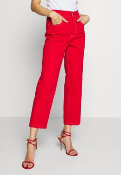 Versace Jeans Couture - LADY TROUSER - Jeans a sigaretta - racing red
