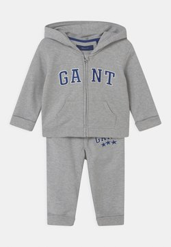 GANT - VARSITY SET - Trainingspak - light grey melange