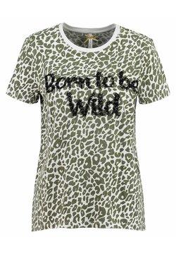 Key Largo - WT BORN - T-Shirt print - khaki