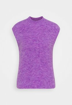 Résumé - AMORA KNIT - Strikkegenser - purple