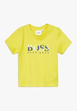 BOSS Kidswear - SLEEVES  - T-shirt print - pollen