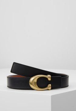 Coach - SCULPTED REVERSIBLE BELT - Belt - saddle