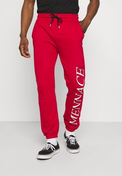 Mennace - COURTSIDE JOGGER - Jogginghose - red