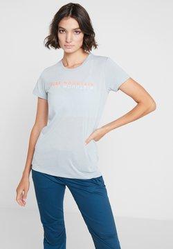 Salewa - PURE  - Funktionsshirt - mottled light blue