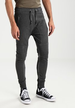 Tigha - TREVOR ZIP - Jogginghose - vintage grey