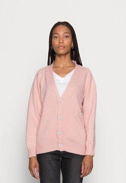 Rifo Lab - GIOVANNI - Strikjakke /Cardigans - pink petalo