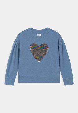 GAP - GIRLS FLIPPY BOXY - Sweatshirt - light indigo