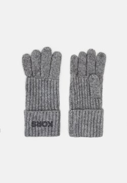Michael Kors - EMBROIDERD GLOVE - Sormikkaat - ash melange/charcoal