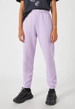 PULL&BEAR - LILA BASIC - Jogginghose - dark purple