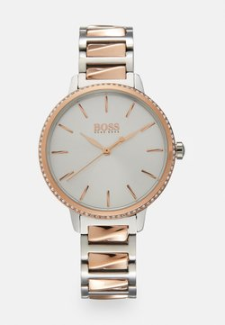 BOSS - SIGNATURE - Montre - silver-coloured/rose gold-coloured