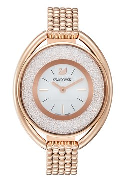 Swarovski - OVAL  - Uhr - rosegold-coloured