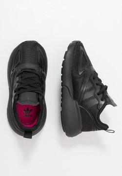 adidas Originals - ZX 2K - Sneaker low - core black/shock pink