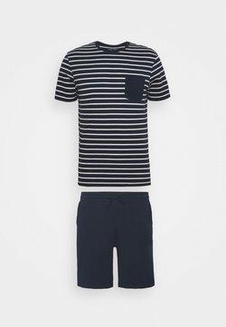 Pier One - Pyjama - dark blue/white