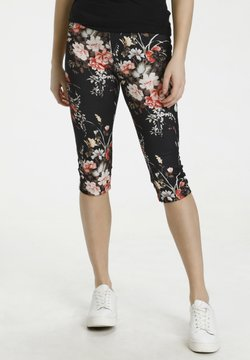 Culture - Shorts - black flower
