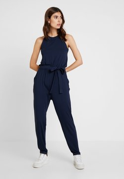 Esprit - OVERALL SOLID - Combinaison - navy