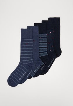 Tommy Hilfiger - SOCK BIRDEYE GIFTBOX 5 PACK - Socken - jeans