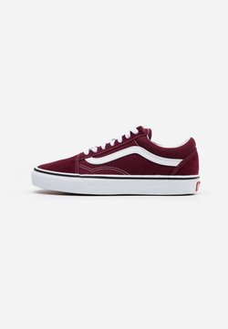 Vans - UA OLD SKOOL - Sneakers laag - port royale/true white