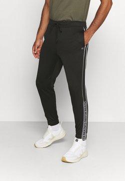 Calvin Klein Performance - PANT - Jogginghose - black/bright white