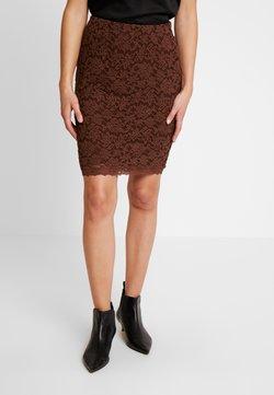 Rosemunde - Pencil skirt - chestnut