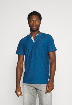 TOM TAILOR - T-shirt con stampa - ibiza blue
