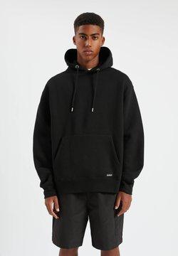 PULL&BEAR - Sweat à capuche - mottled black