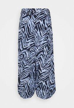 Marks & Spencer London - ZEBRA CULOTTE - Stoffhose - dark blue