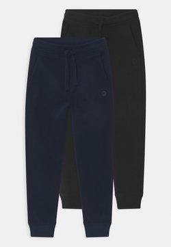 OVS - 2 PACK - Pantaloni sportivi - black beauty/salute