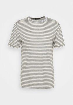 J.LINDEBERG - COMA STRIPE - T-Shirt print - sage