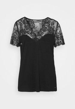 Morgan - DVOLA - Print T-shirt - noir