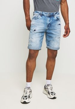 Cars Jeans - BECKER - Jeansshort - blue denim
