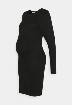 Pieces Maternity - PCMSIERRA DRESS - Vestido de tubo - black