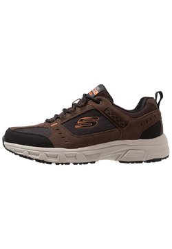 Skechers - OAK CANYON - Sneaker low - chocolate/black