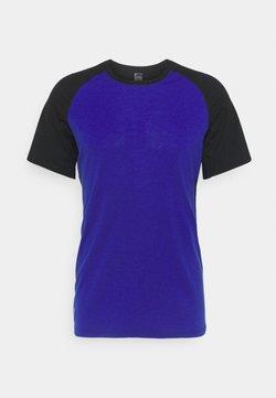 Mons Royale - TEMPLE TECH  - T-Shirt basic - ultra blue/black
